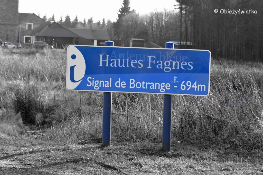 Signal de Botrange - najwyższy punkt w Belgii