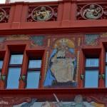Fasada ratusza w Bazylei, Szwajcaria