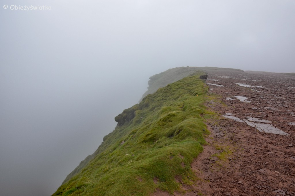 W drodze na Pen Y Fan, Brecon Beacons, Walia