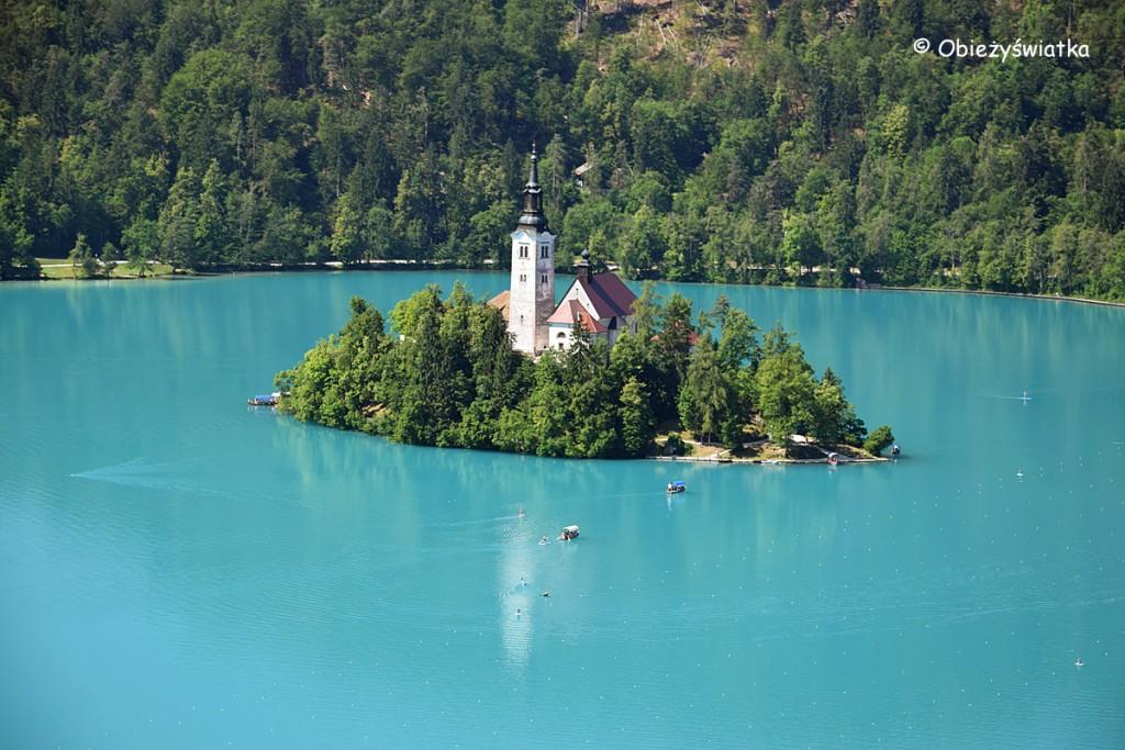 Jezioro Bled i wyspa Blejski Otok, Słowenia