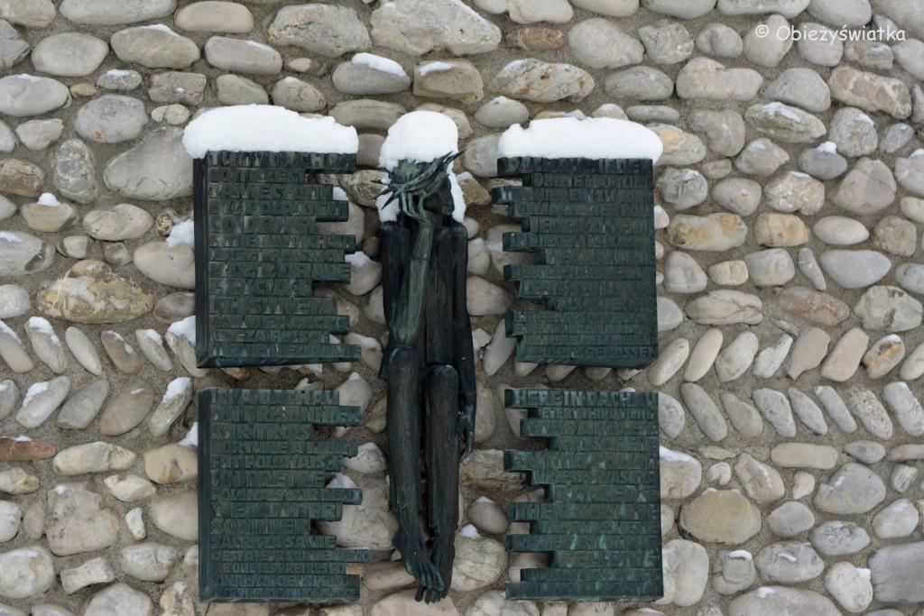 Katolicka kapliczka Śmiertelnego Strachu Chrystusa na terenie KL Dachau