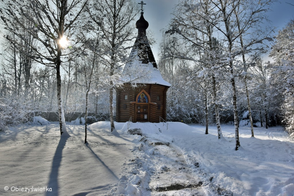 Kapliczka prawosławna na terenie KL Dachau