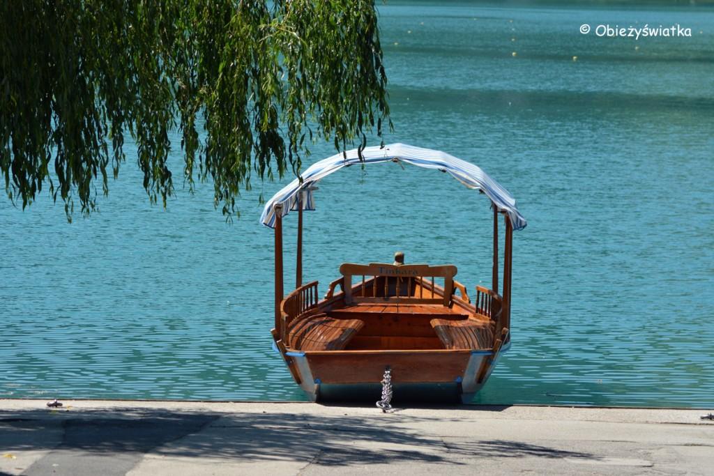 Pletna na Jeziorze Bled, Słowenia