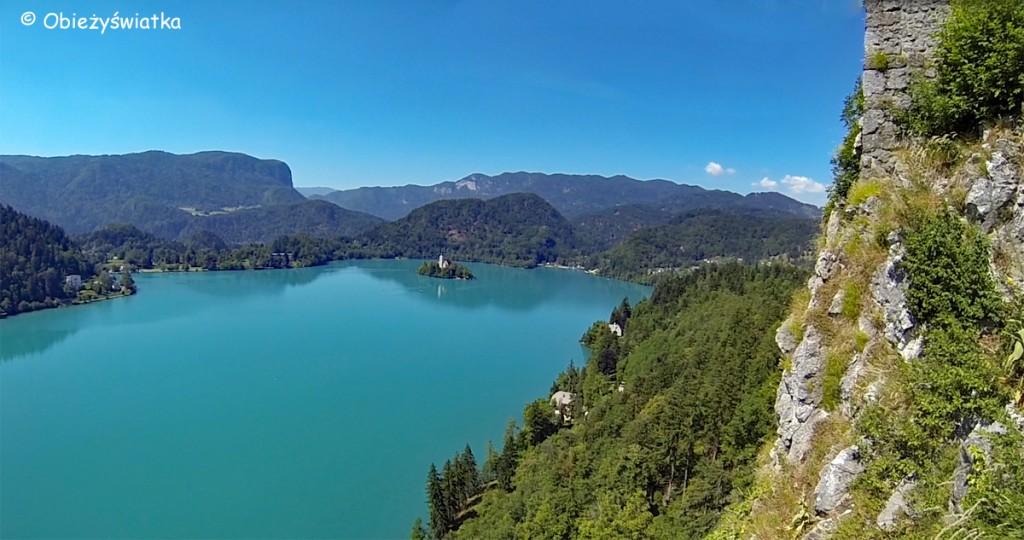 Wyspa Blejski Otok na Jeziorze Bled, Słowenia
