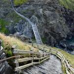 Trudno dostępny Tintagel Castle