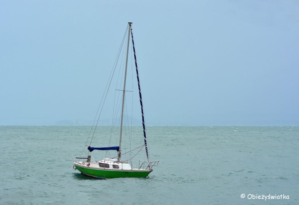 Łódka na Jeziorze Garda
