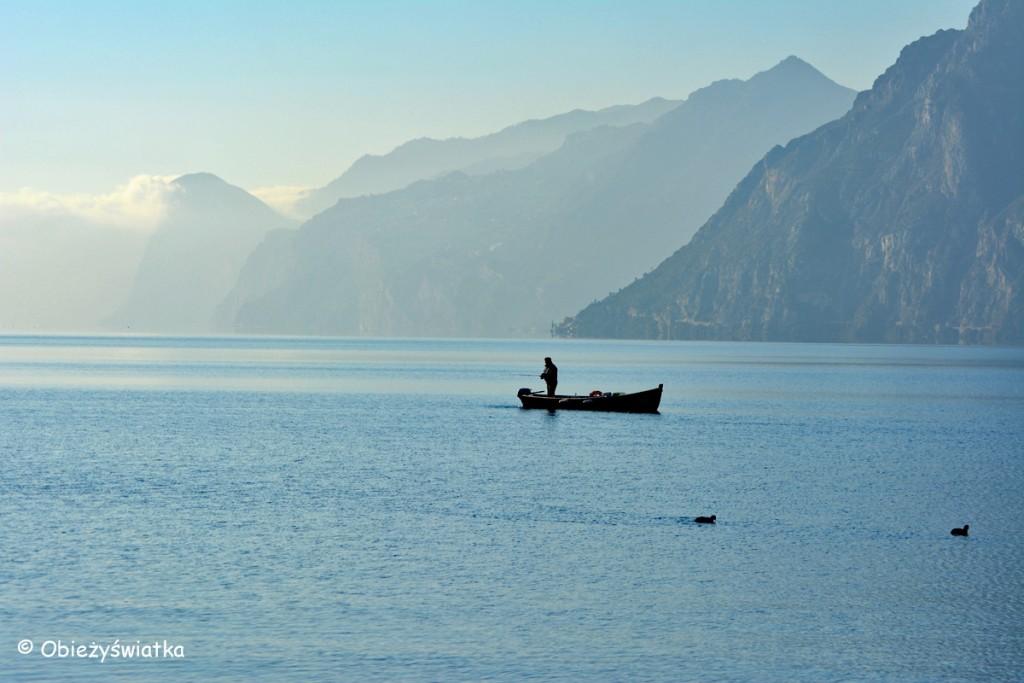 Na Jeziorze Garda zimą