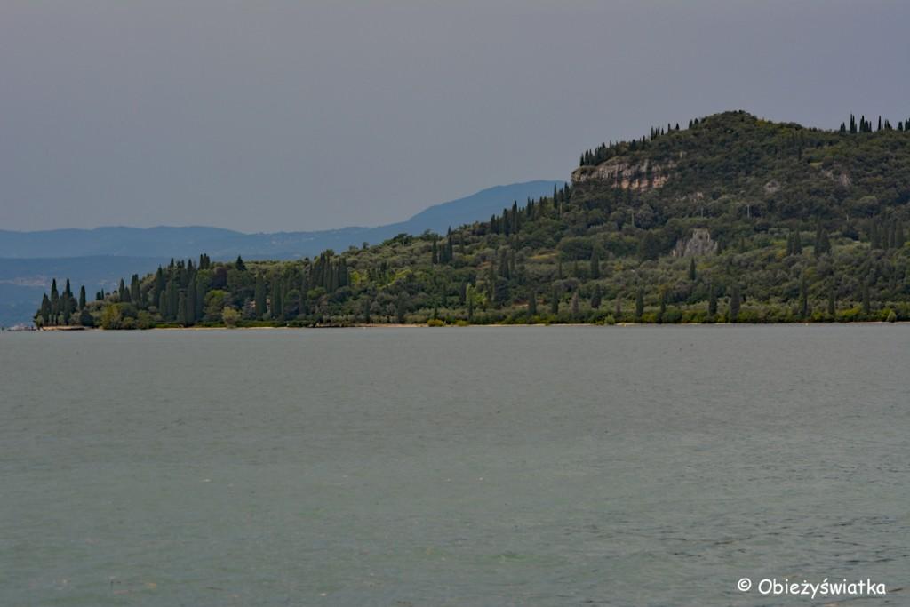 Jezioro Garda tuż przed burzą...