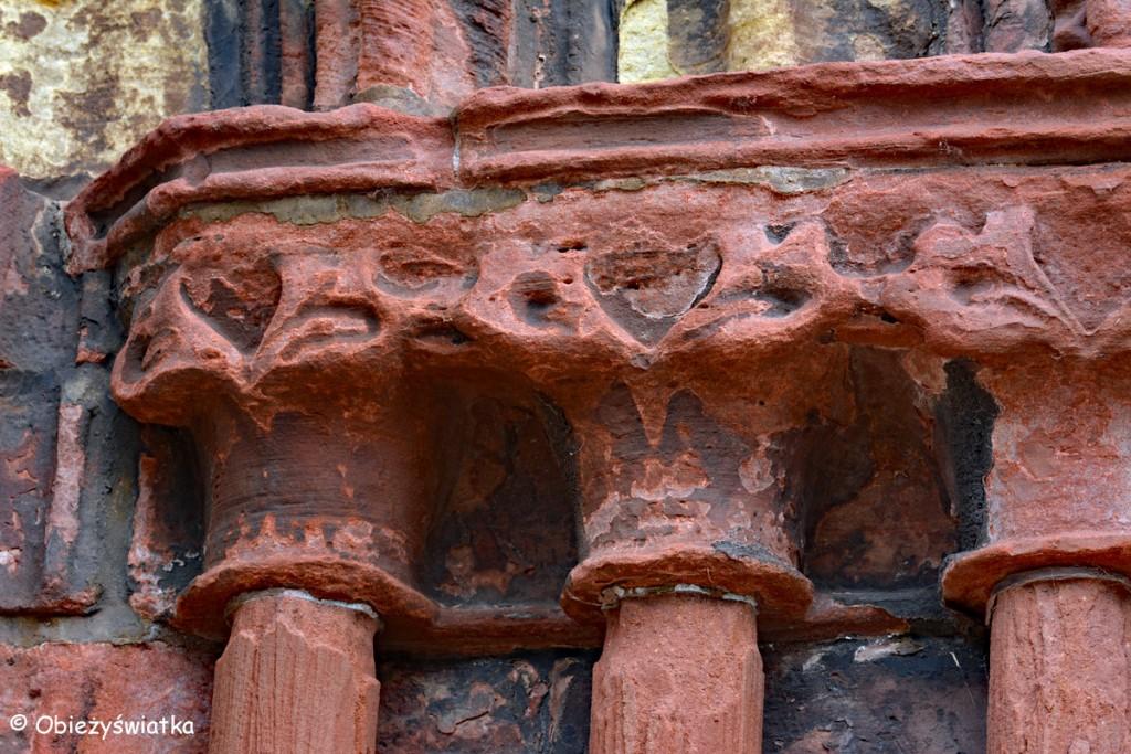 Detale - Katedra św. Magnusa w Kirkwall, Orkady, Szkocja