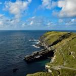 Kornwalia - wybrzeże wokół Tintagel Castle
