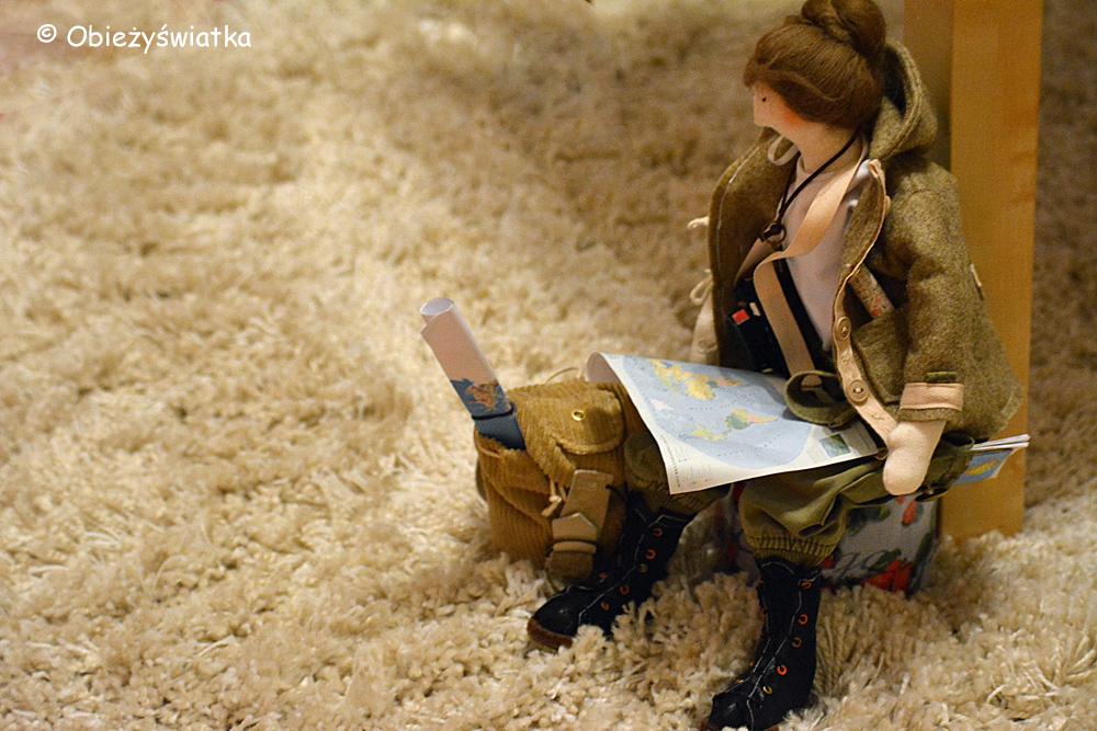 Tilda-Obieżyświatka przygotowuje się do podróży ;)