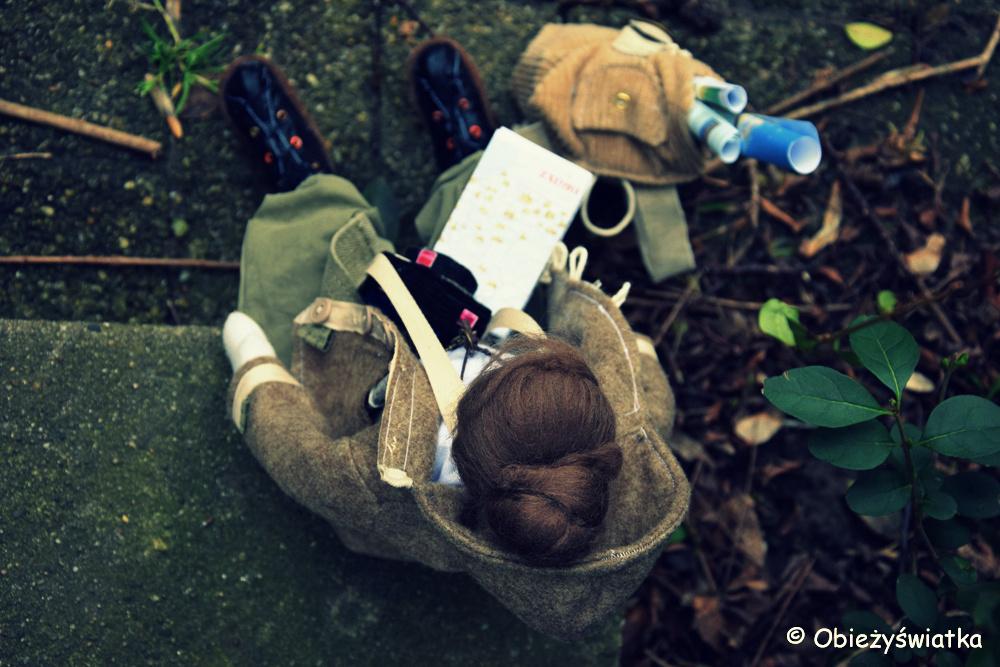 Tilda-Obieżyświatka przed wyruszeniem w drogę