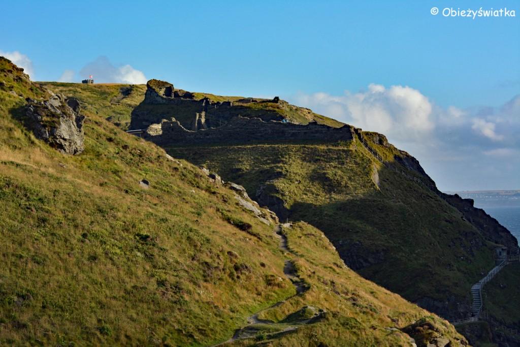 Twierdza Artusa - Tintagel Castle