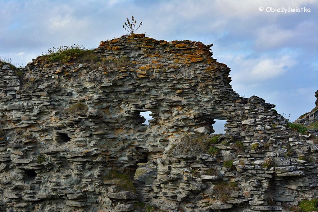 Ruiny Tintagel Castle