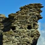 Pozostałości po Tintagel Castle