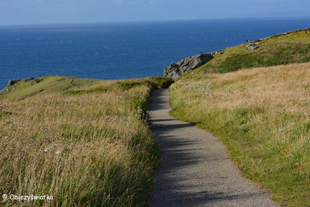 Droga do oceanu - wokół Tintagel Castle