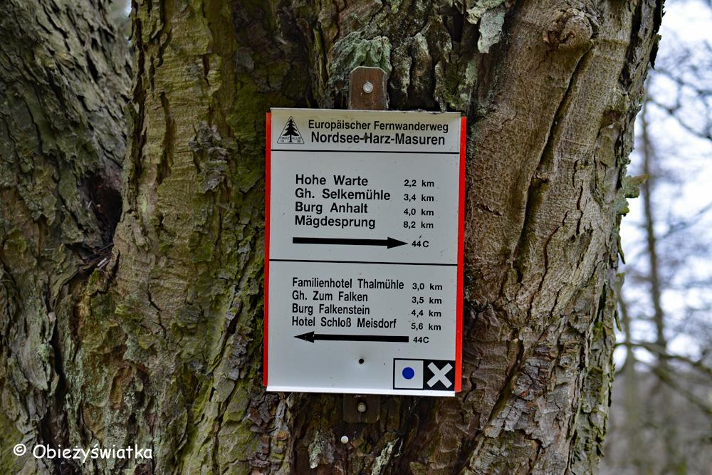 Szlaki w dolinie rzeki Selke - Morze Północne-Harz-Mazury