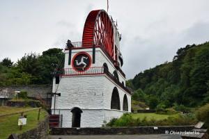 Great Laxey Wheel na Wyspie Man- największe koło wodne Europy