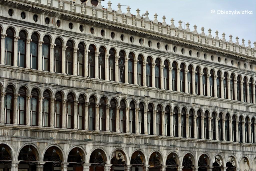 Na placu św. Marka w Wenecji