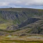 Nordkapp widziany ze szlaku na Knivskjellodden