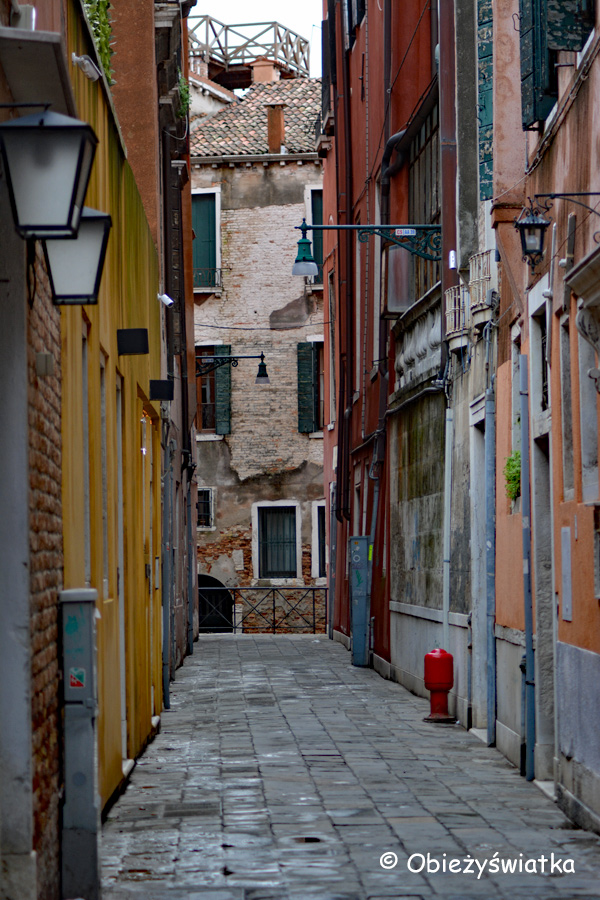 Uliczki Wenecji