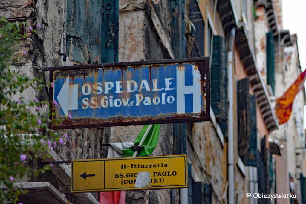 Na uliczkach Wenecji