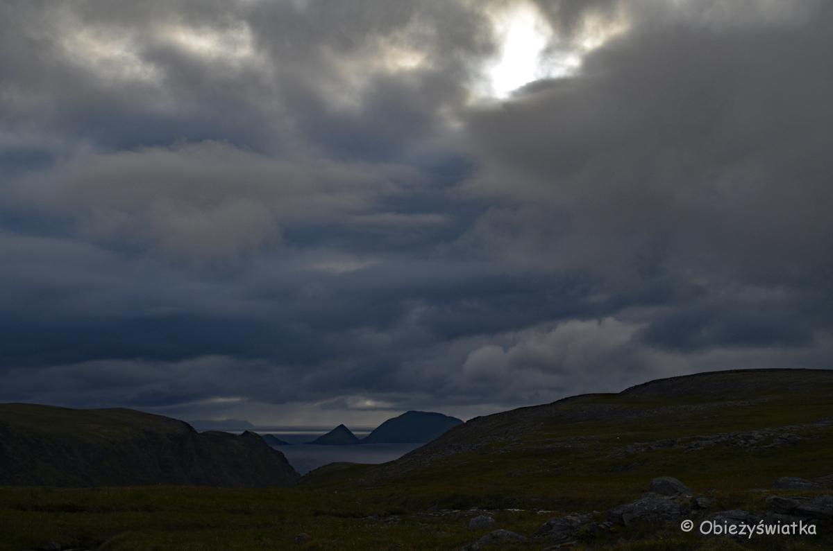 Na wyspie Magerøya, Norwegia