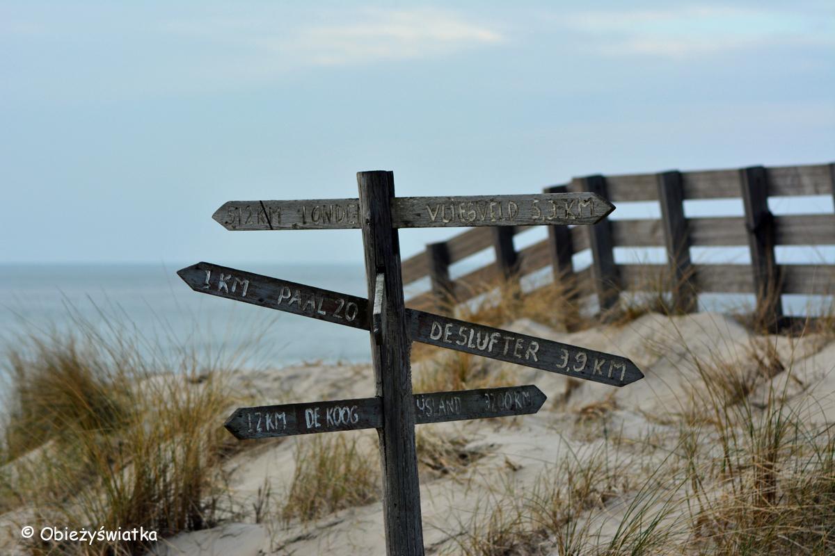Róża Wiatrów na Texel - na wyspie znajduje się 7 osad :)