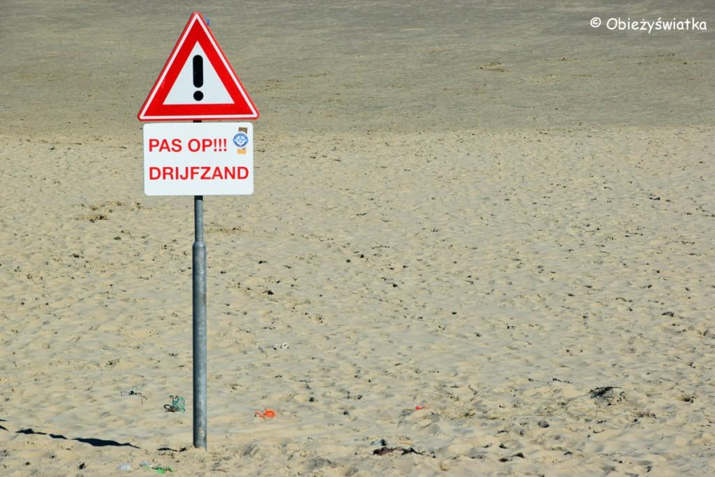 Uwaga! Ruchome piaski na Texel :)