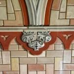 Wnętrze Włoskiej Kaplicy/Italian Chapel na Orkadach - malowana fasada