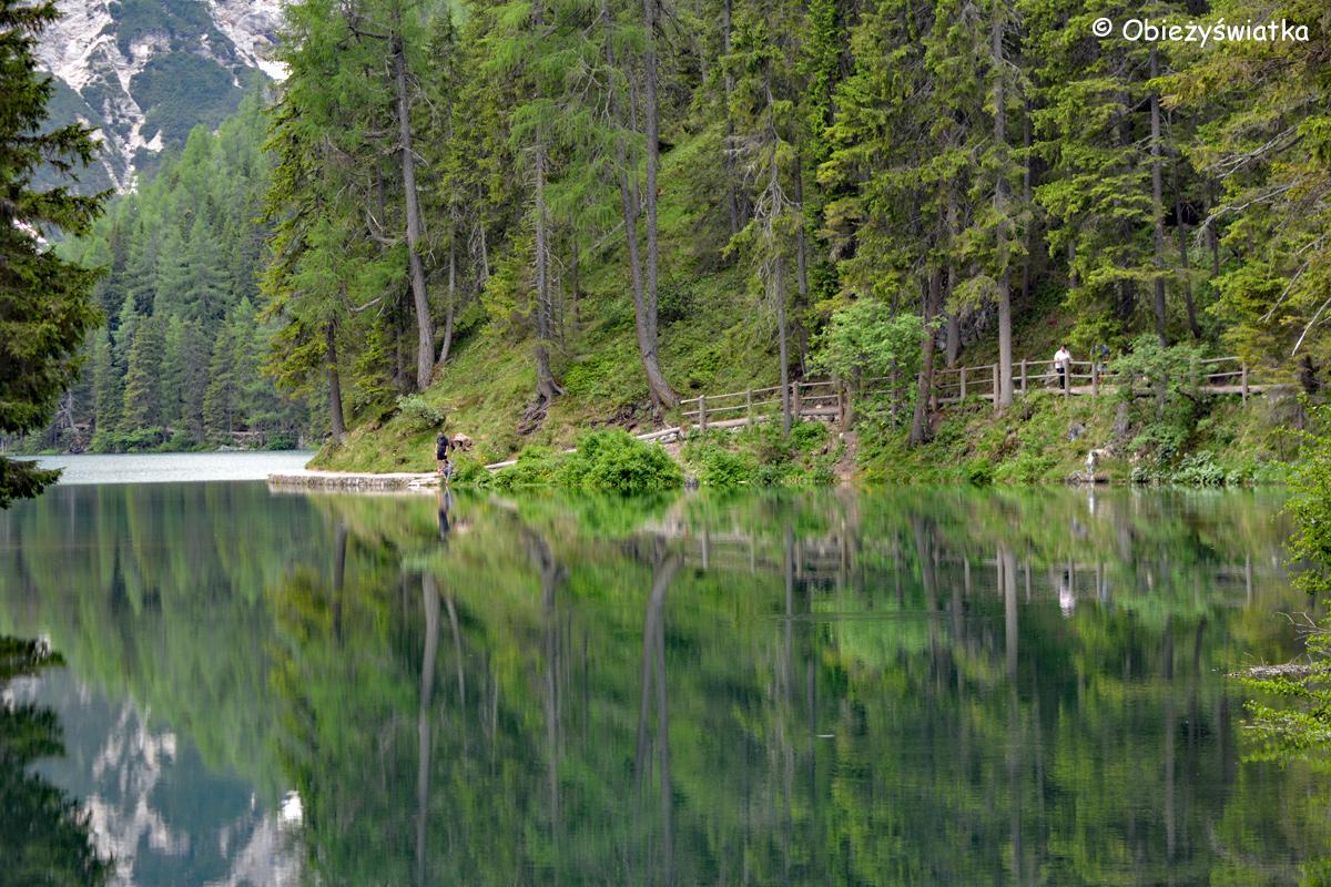 Przeglądnij się w zwierciadle wody - Pragser Wildsee / Lago di Braies, Tyrol Południowy