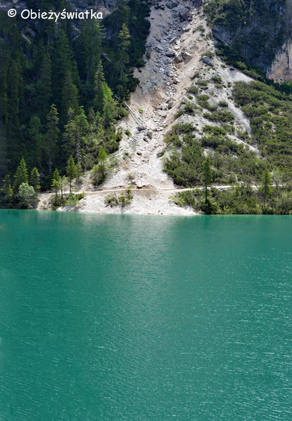 Turkusowo - Pragser Wildsee / Lago di Braies, Tyrol Południowy