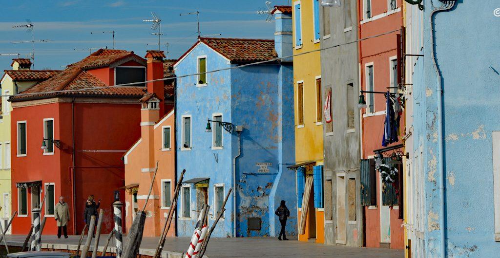 Burano, Wenecja, Włochy