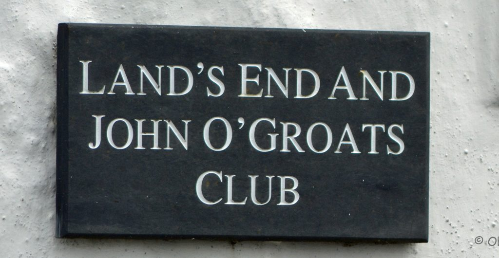 From Lands End to John O Groats