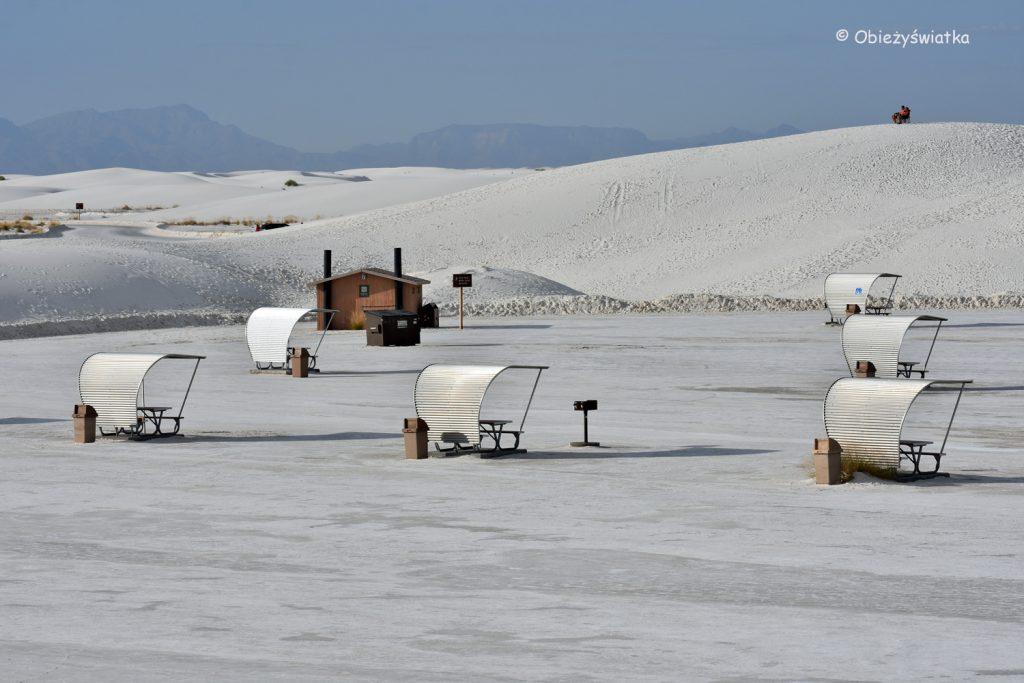 Czas na piknik! White Sands National Monument, USA