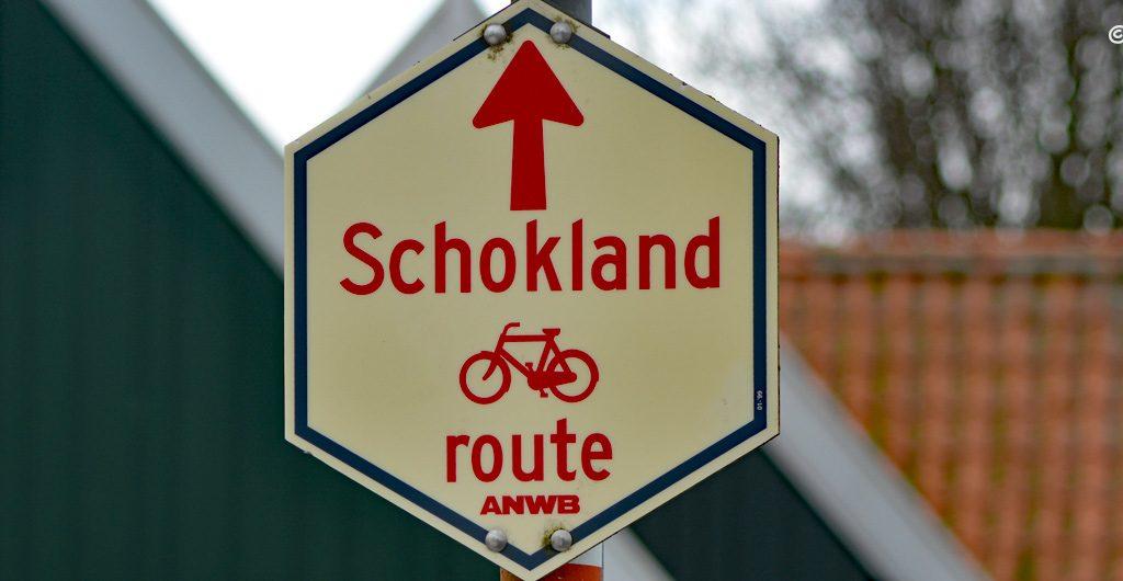 Schokland - ścieżka rowerowa