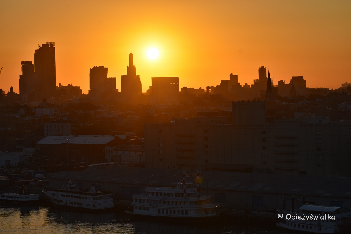 Nowy Jork o wschodzie słońca, Brooklyn