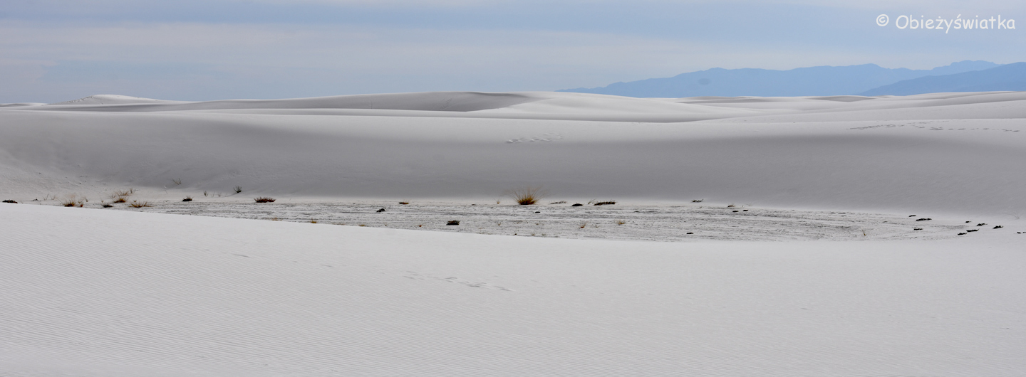 Wydmy w White Sands National Monument, USA