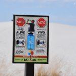 Uwaga! Zanim wybierzesz się na szlak, White Sands National Monument, USA