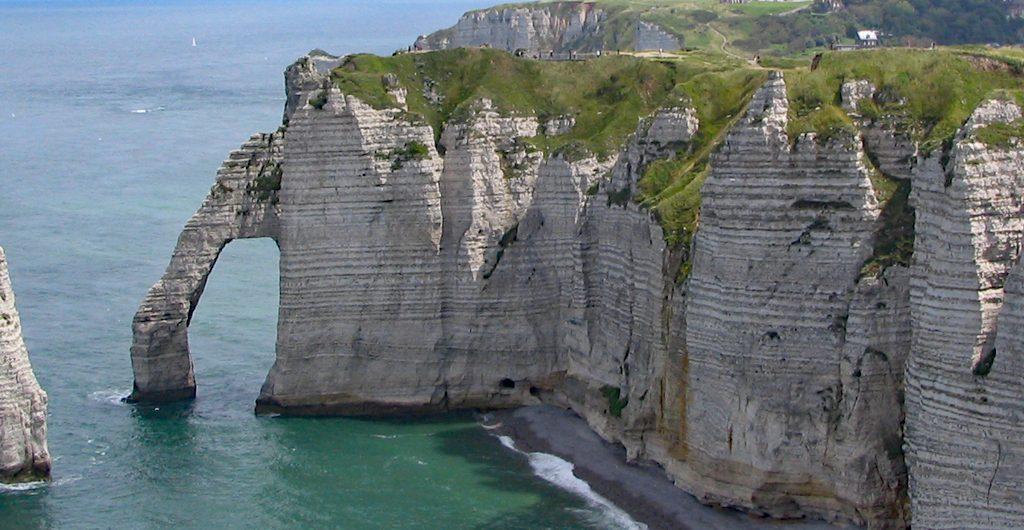 Impresje normadzkie, Etretat, Francja