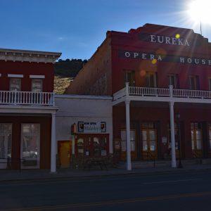 Eureka Opera House w miejscowości Eureka, wybudowany w 1880