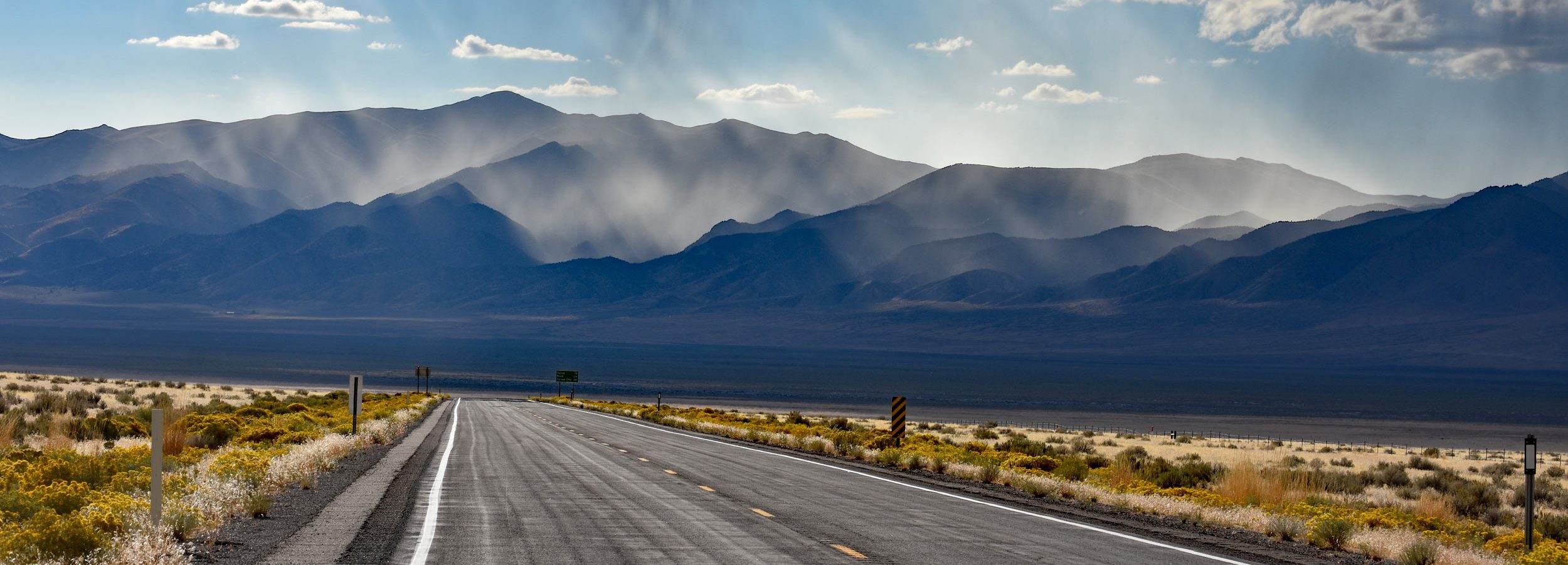 The Loneliest Road in America, Nevada