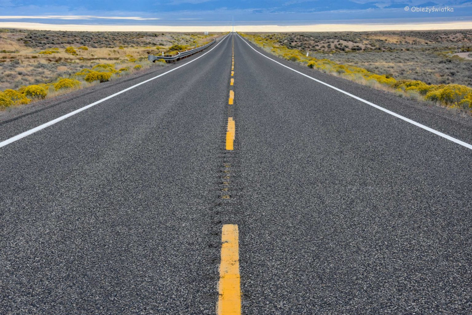 The Loneliest Road in America, czyli Highway 50, Nevada
