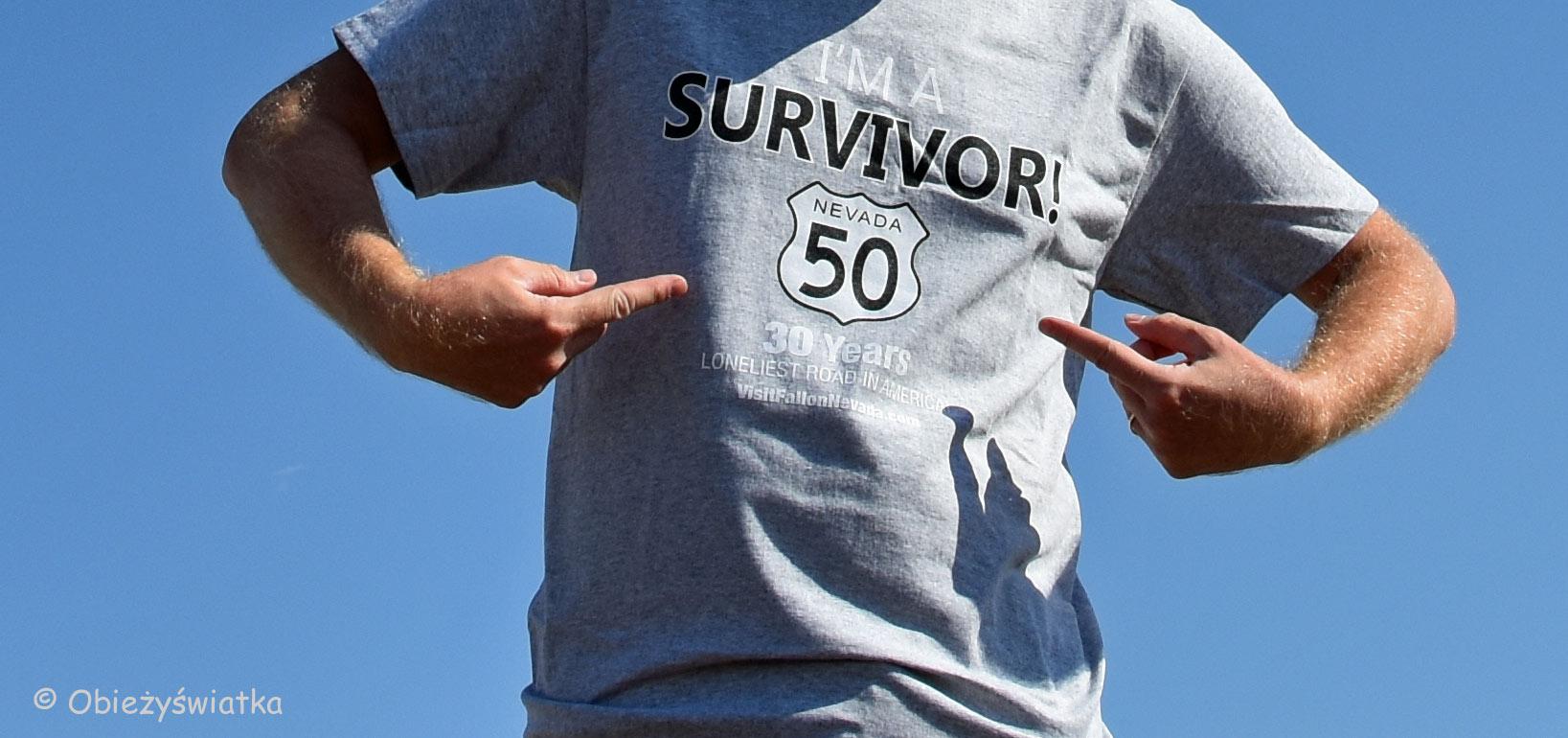 I survived Highway 50