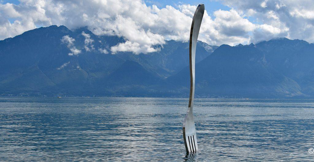 Nóż w wodzie, Vevey, Szwajcaria