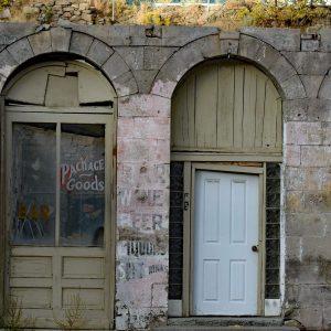 Opuszczone budynki w Austin, Nevada