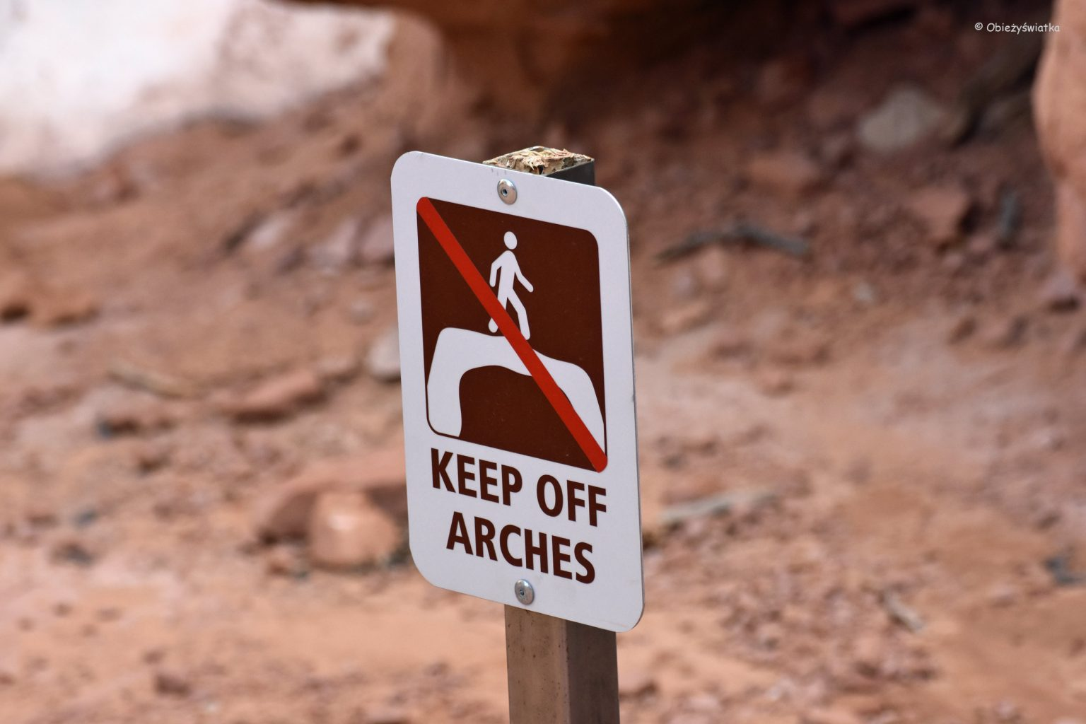 Keep off Arches