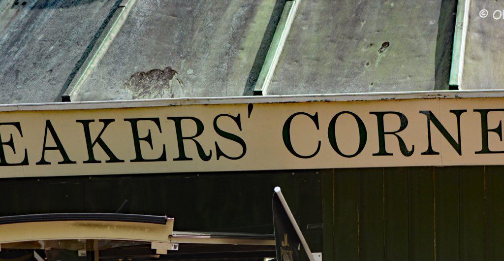 Speakers Corner, Londyn