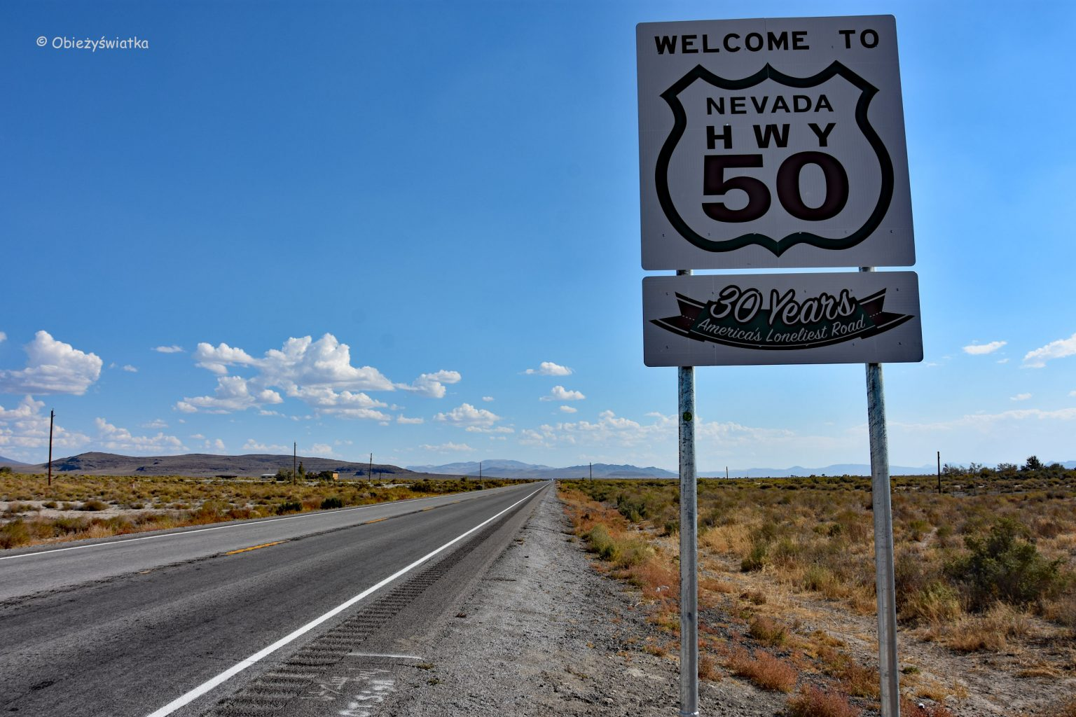 The Loneliest Road in America, czyli Highway 50