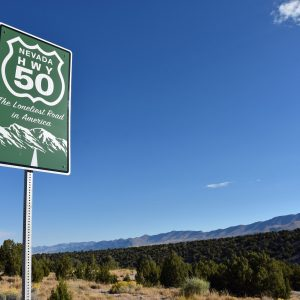 The Loneliest Road in America, Nevada Hwy 50